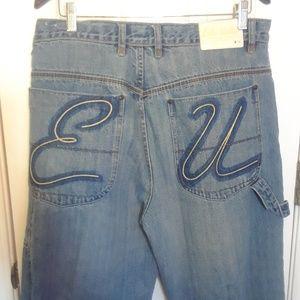 VINTAGE 34X33 ECKO ULTD MENS carpenter Jeans